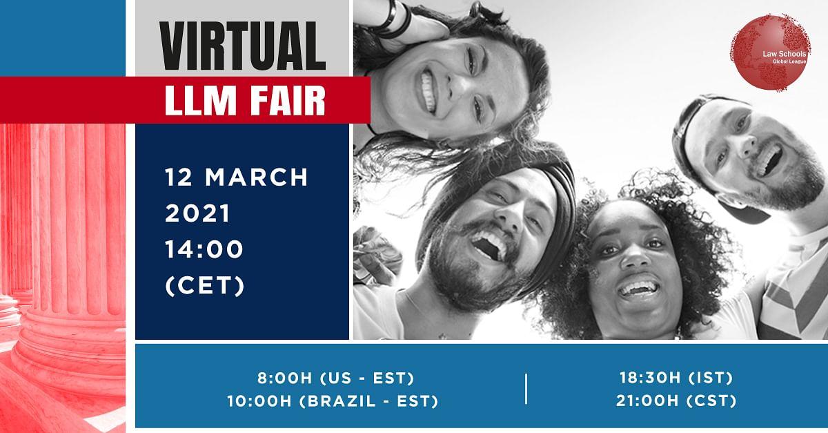 Attend: Law Schools Global League virtual LL.M. Fair (March 12)