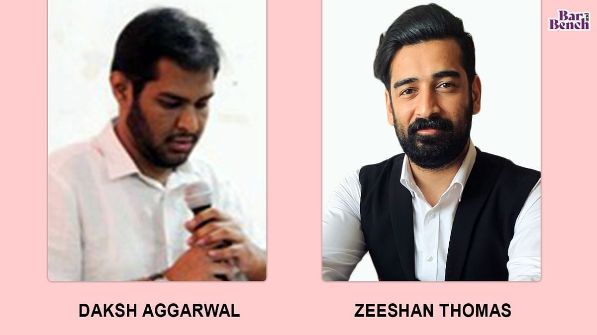 The Journalists: Daksh Aggarwal & Zeeshan Thomas, Delhi Law Review (Student Edition)