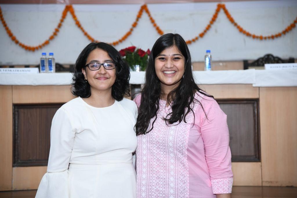 The Journalists: Doorva Tripathi & Saumya Agarwal, NLIU Law Review
