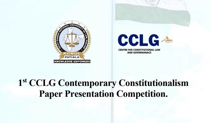 Participate: CCLG's Contemporary Constitutionalism Paper Presentation