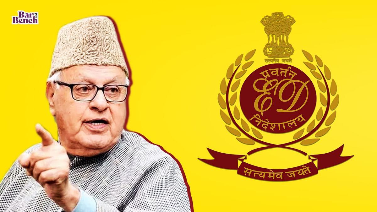 Jammu & Kashmir High Court judge recuses in Farooq Abdullah plea challenging ED jurisdiction to attach his property in JKCA money laundering case