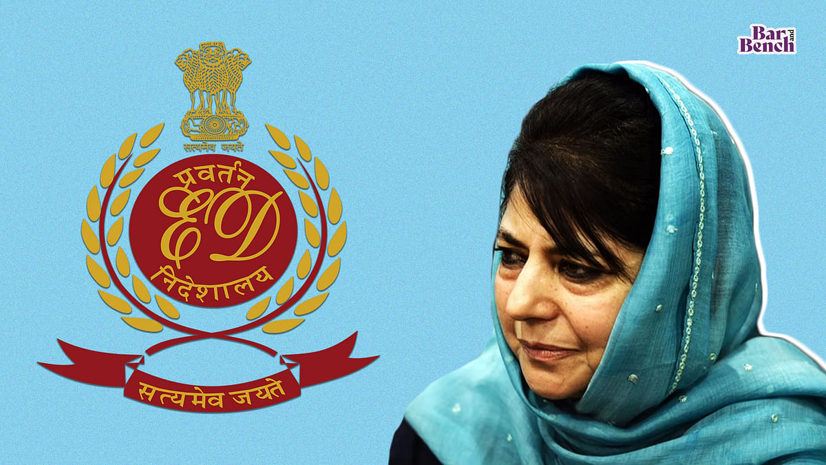 Mehbooba Mufti moves Delhi High Court to quash summons issued by Enforcement Directorate