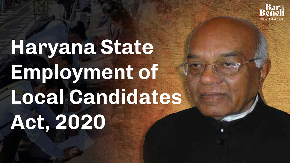 Governor gives assent to Haryana State Employment of Local Candidates Bill; 75% reservation in private sector jobs for Haryana domiciles