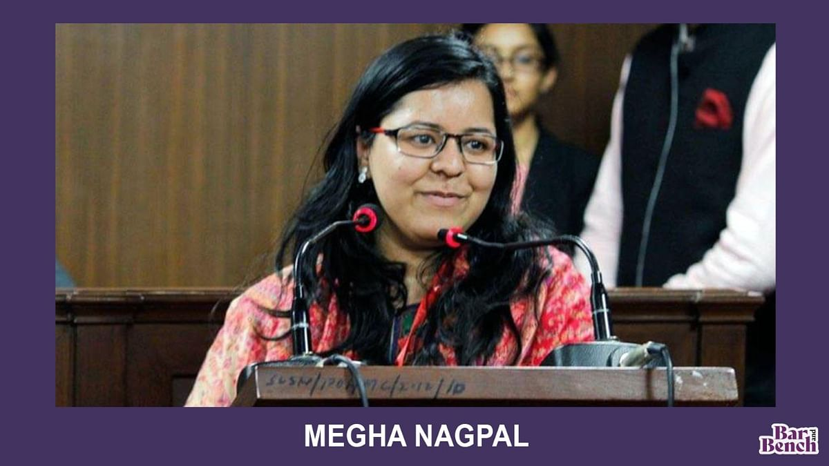 The Mooters: Megha Nagpal, Symbiosis Law School Noida