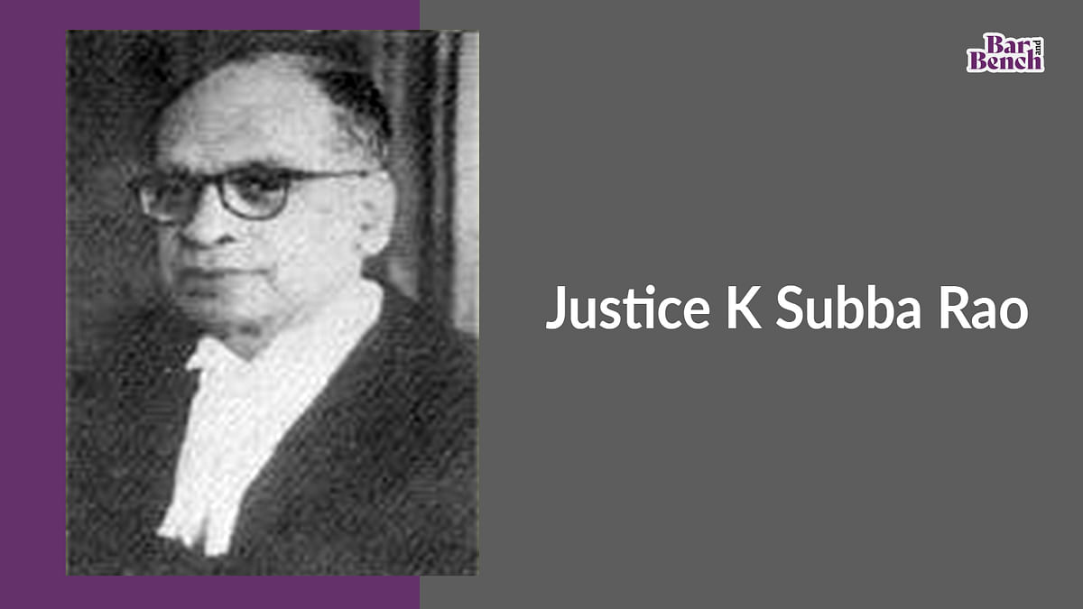 Justice K Subba Rao