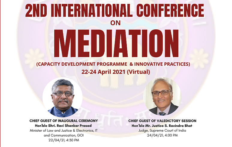 Attend: International Conference on Mediation by Faculty of Law, University of Delhi