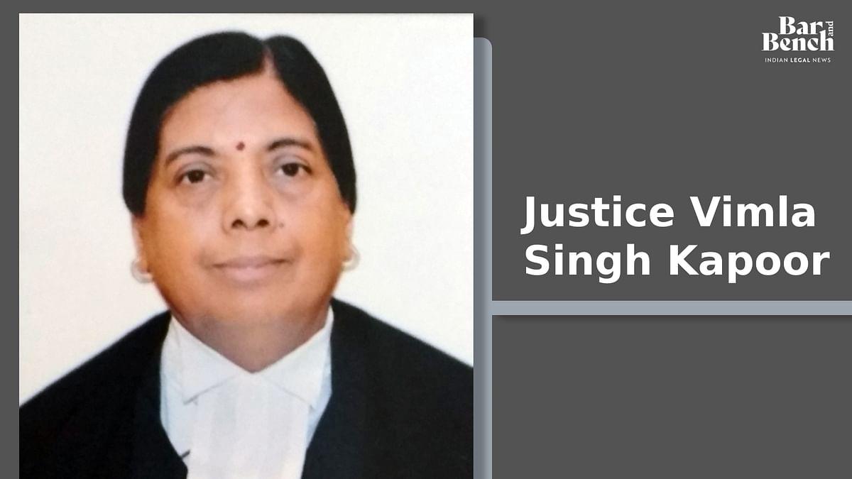 Justice Vimla Singh Kapoor of Chhattisgarh High Court made permanent judge [Read Notification]