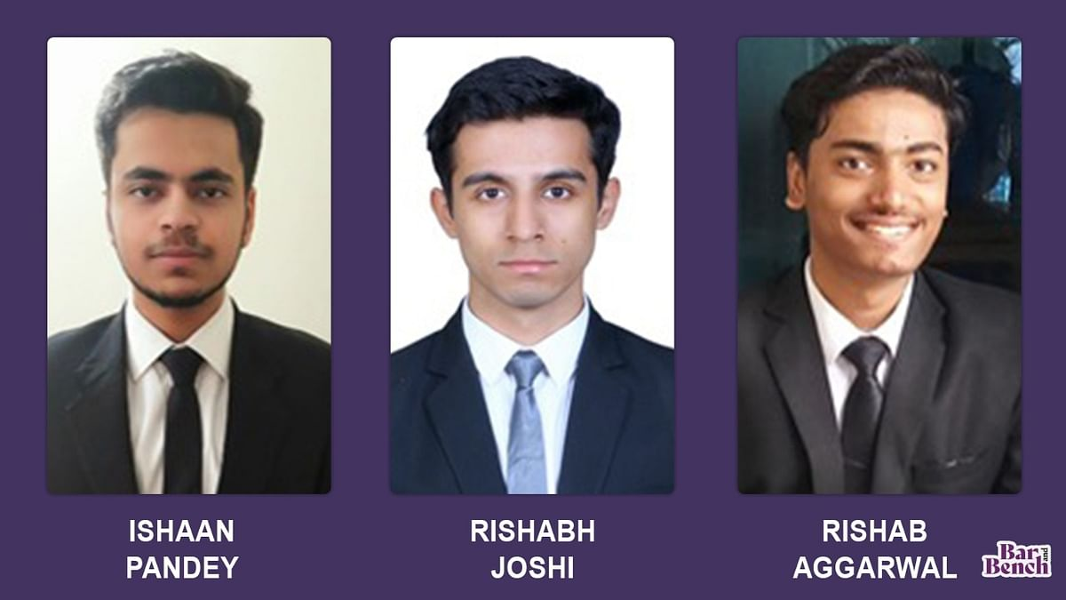 In conversation with GNLU's winning team at ILNU & CCI's 10th National Moot Court Competition