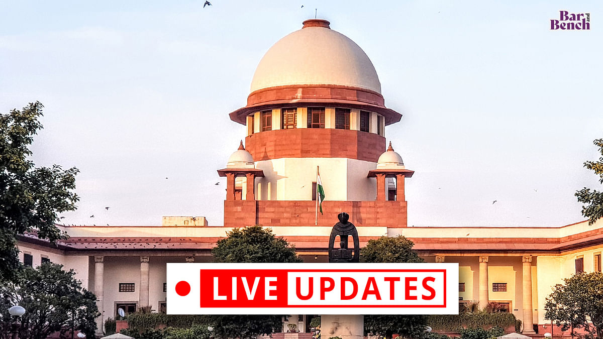 Supreme Court hears suo motu case concerning COVID-19 [LIVE UPDATES]