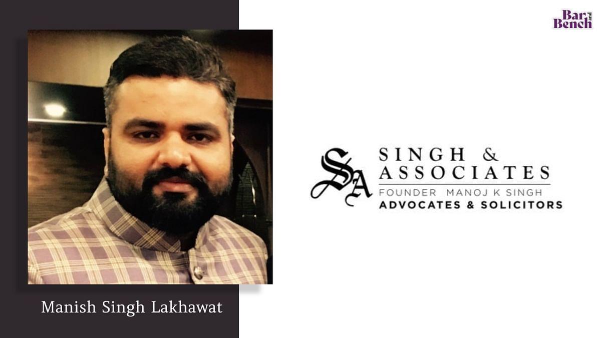 Singh & Associates elevates Manish Singh Lakhawat to Partner