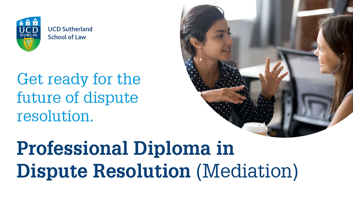 Prepare for a dramatic rise in disputes: Enrol for this Professional Diploma in Dispute Resolution (Mediation)