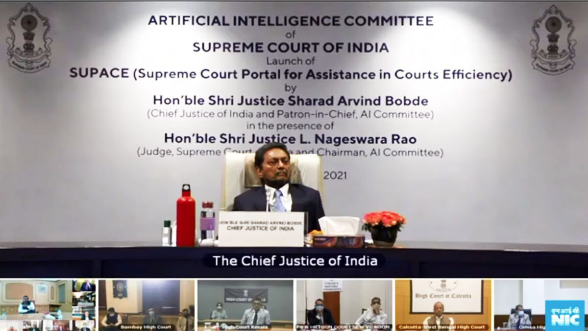 Historic day, a feather in the cap of CJI Bobde: Justice NV Ramana on launch of Artificial Intelligence tool, SUPAC [LIVE UPDATES]