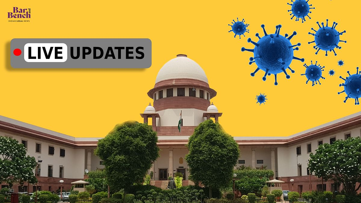 During national crisis Supreme Court cannot be a mute spectator: Suo motu hearing on Covid-19 issues [LIVE UPDATES]