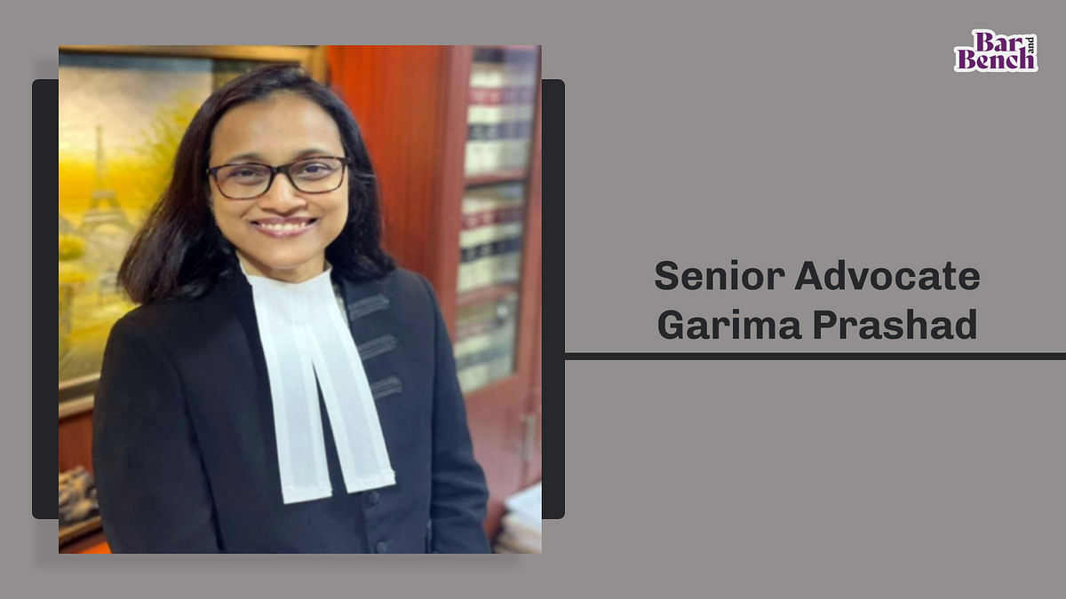 Senior Advocate Garima Prashad