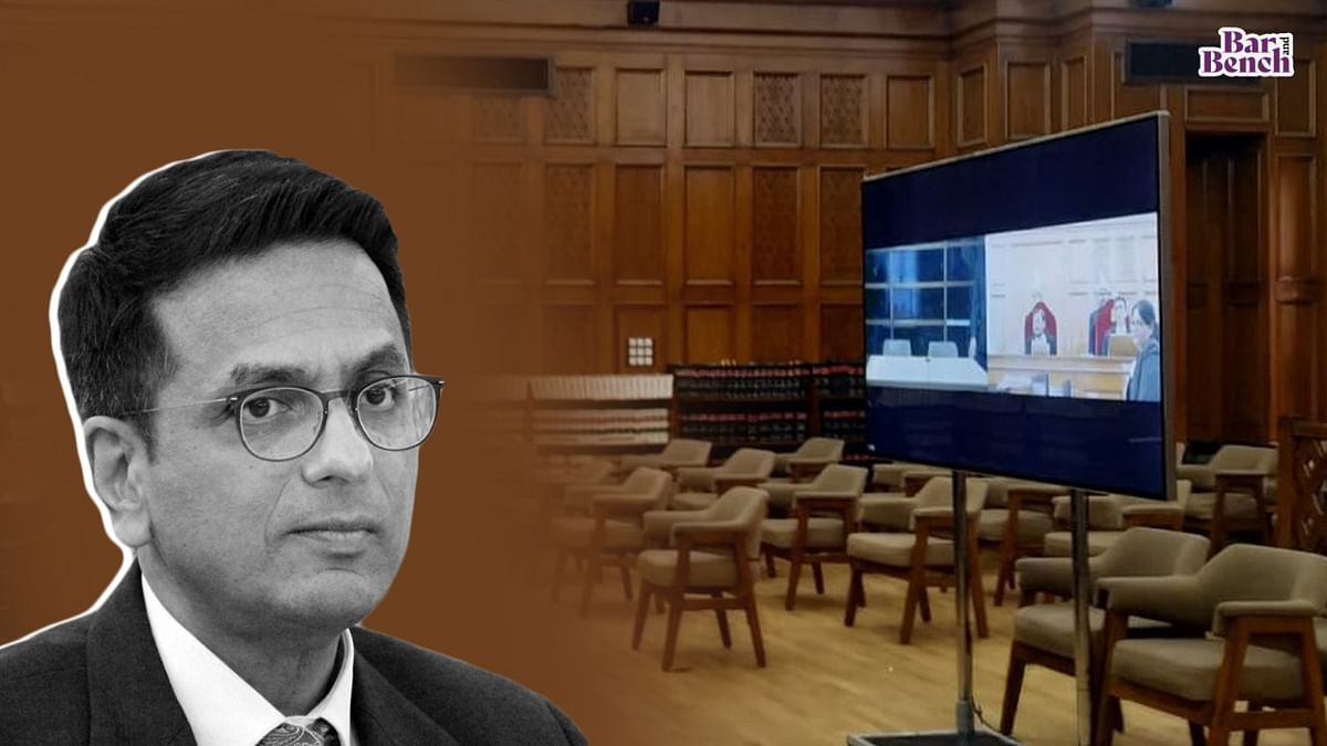 Residences of all Supreme Court judges equipped with 1000 Mbps internet; tender awarded for new virtual hearing platform: Justice DY Chandrachud