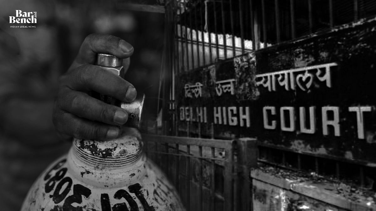 [Breaking] Show cause why contempt action should not be taken for non-compliance of SC, HC orders on oxygen supply: Delhi High Court to Centre