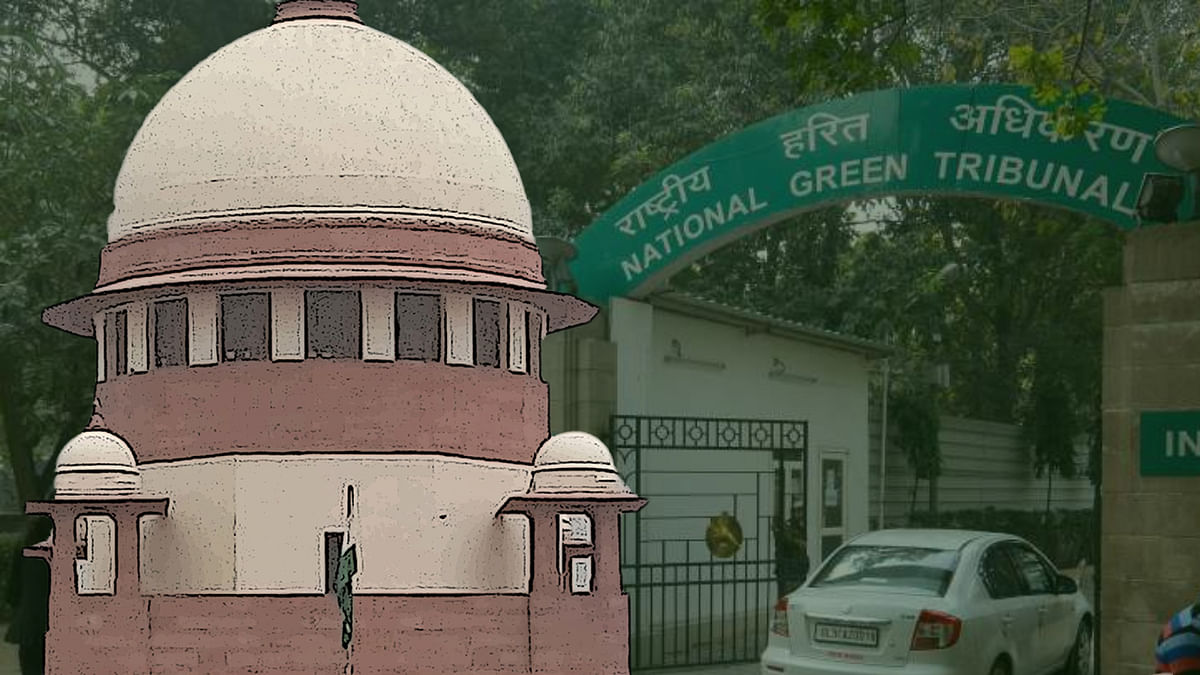 """""""We are prima facie of the view that NGT cannot strike down a law:"""" Supreme Court"""