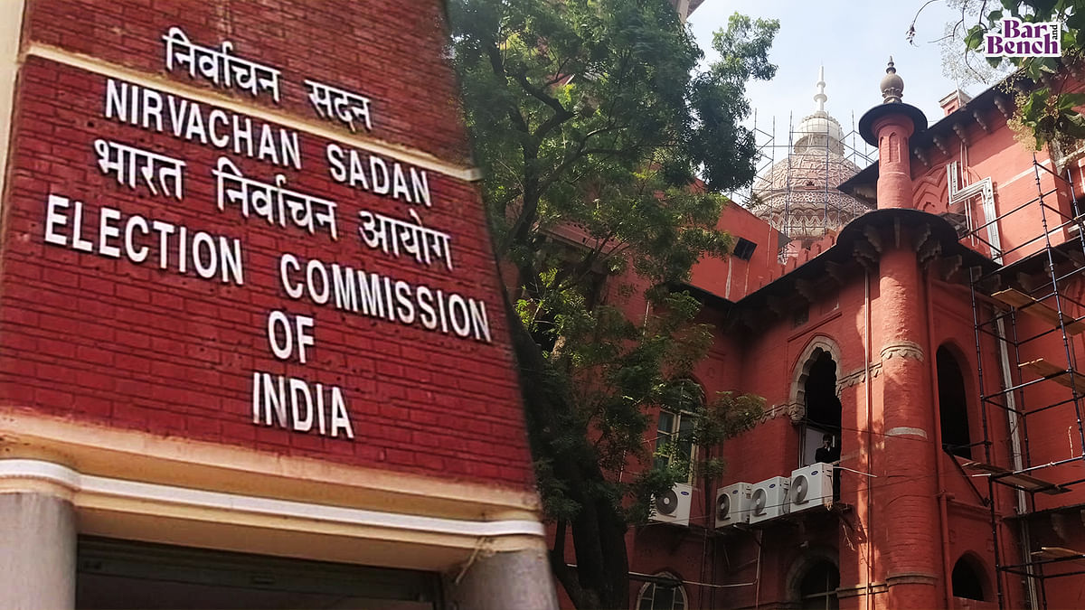 """[Breaking] Election Commission moves Madras High Court against """"murder charges"""" comment; says media should not report oral comments made by court"""