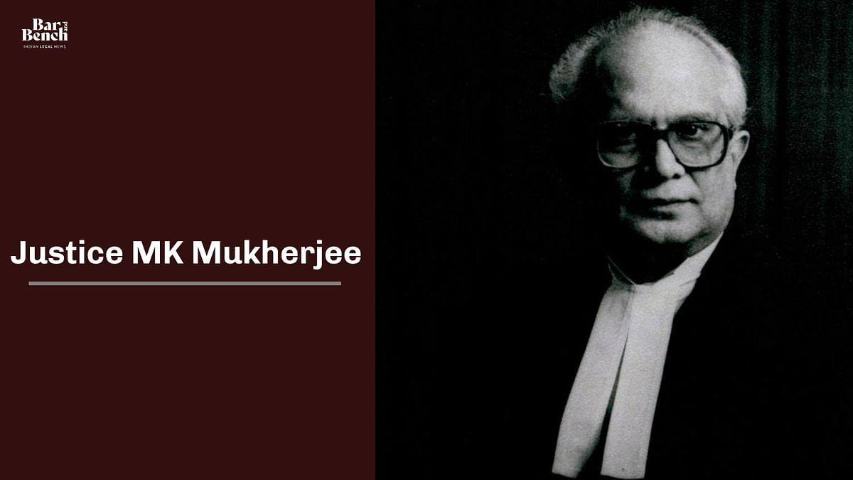 Former Supreme Court Judge, Justice MK Mukherjee passes away