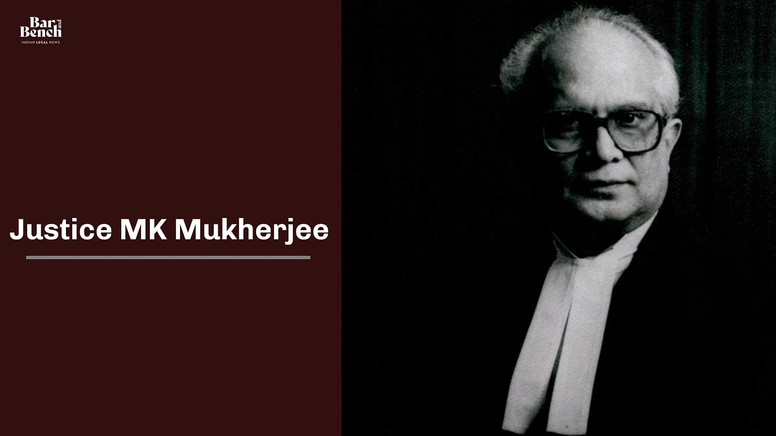 Justice MK Mukherjee