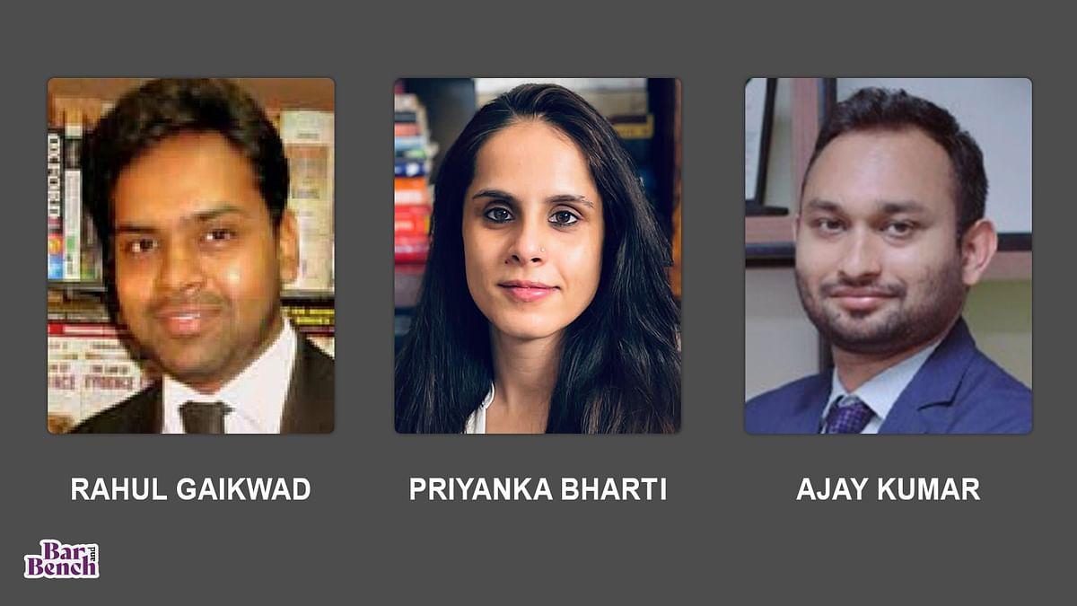 Gravitas Legal promotes Rahul Gaikwad to equity partnership, Priyanka Bharti to partnership