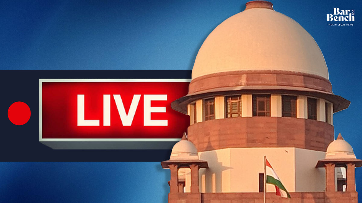 Supreme Court hears suo motu case on COVID-19 situation in India [LIVE UPDATES]