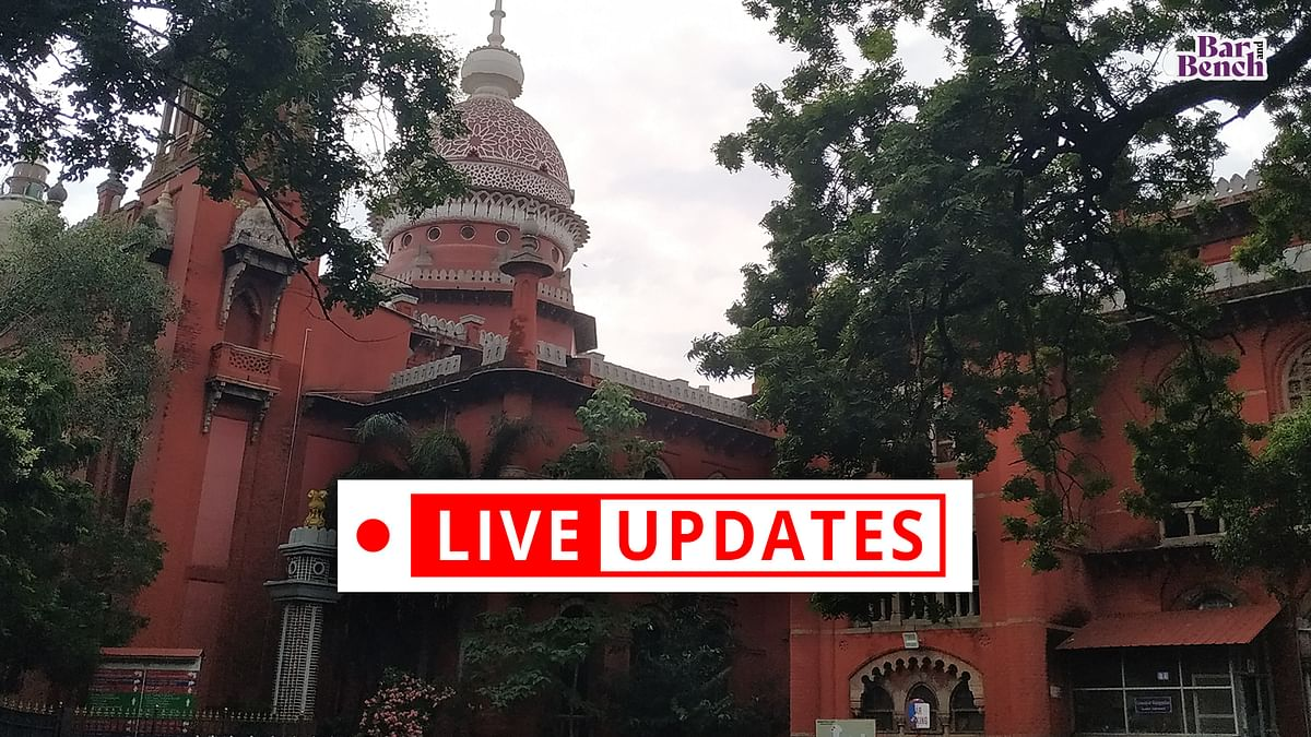 """""""When it comes to life, there should be no VIP culture"""" Madras High Court while hearing suo motu case on COVID-19 management [LIVE UPDATES]"""
