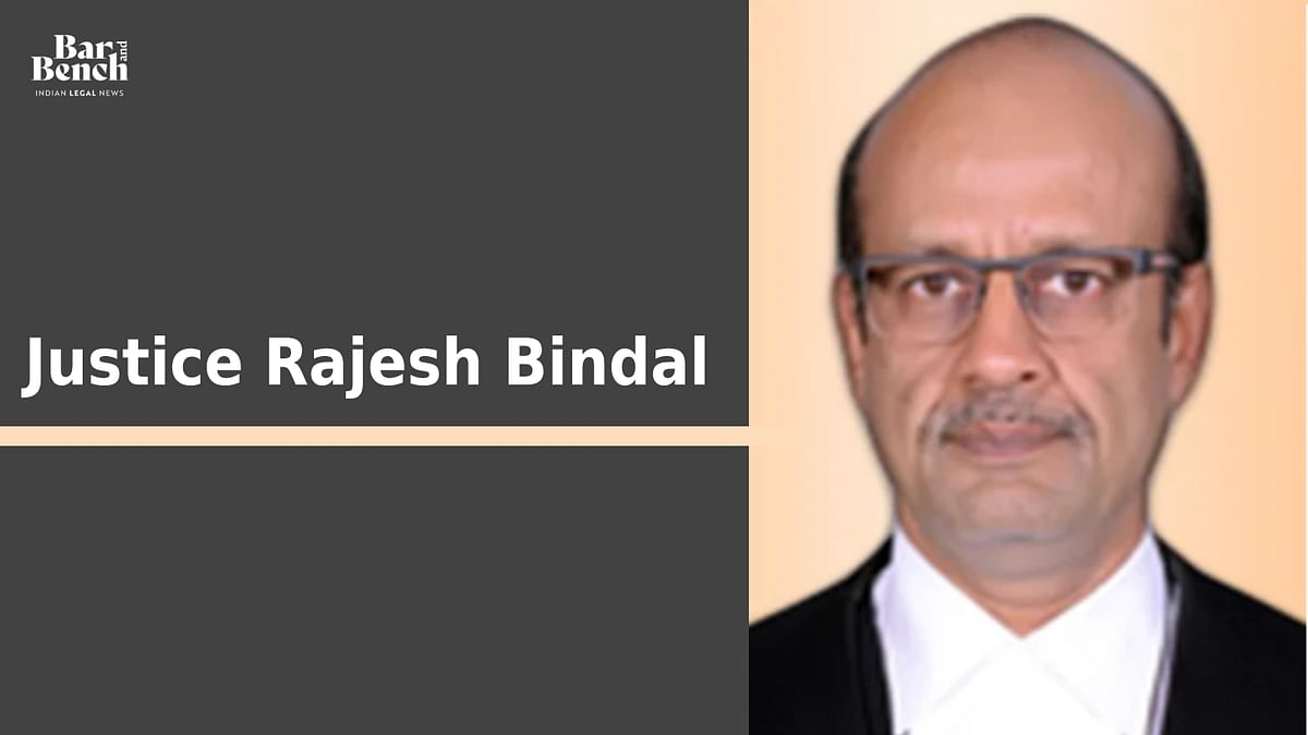 Central government notifies appointment of Justice Rajesh Bindal as acting Chief Justice of Calcutta High Court