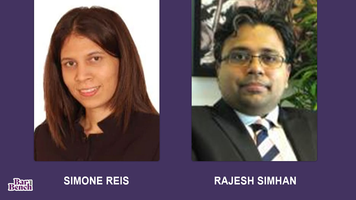 Senior leaders of Nishith Desai Associates Simone Reis and Rajesh Simhan leave to set up Anagram Partners