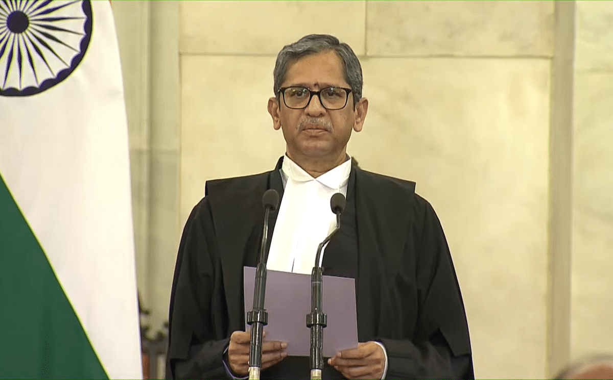 Justice NV Ramana sworn in as 48th Chief Justice of India