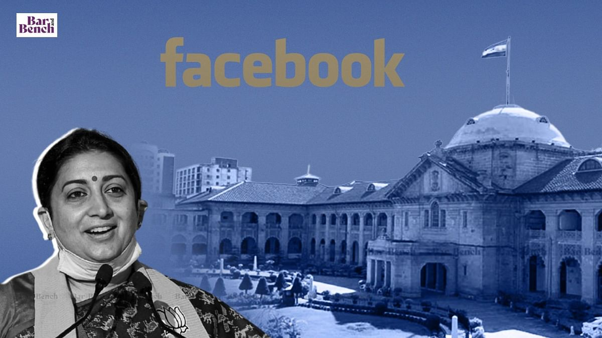 Allahabad High Court rejects anticipatory bail of Professor accused of  putting obscene post about Smriti Irani on Facebook