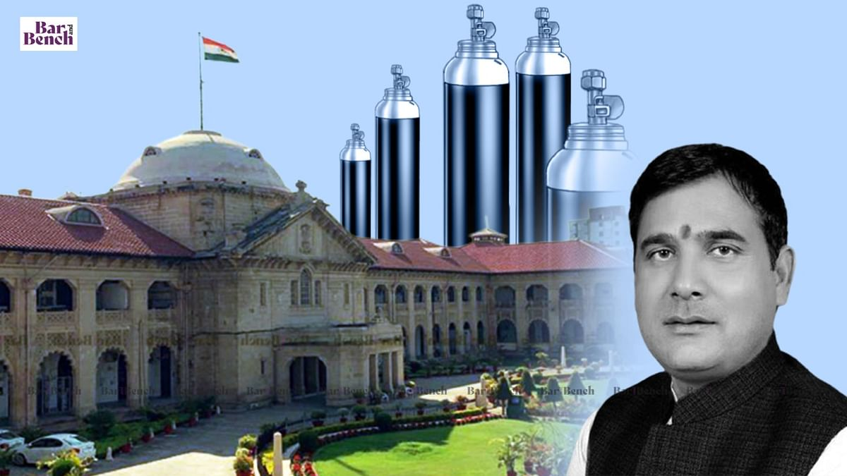 Allahabad High Court seeks response from Ghaziabad District Magistrate on plea alleging Oxygen diversion by Addl District Magistrate