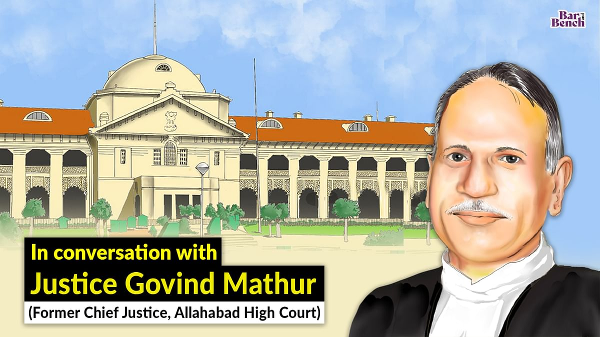 """""""State of Uttar Pradesh doesn't accept the directions given by courts:"""" Former Allahabad HC Chief Justice Govind Mathur [Watch video interview]"""