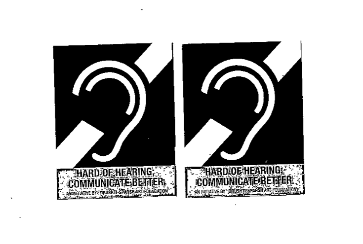 sticker on the mask of people with disabilities