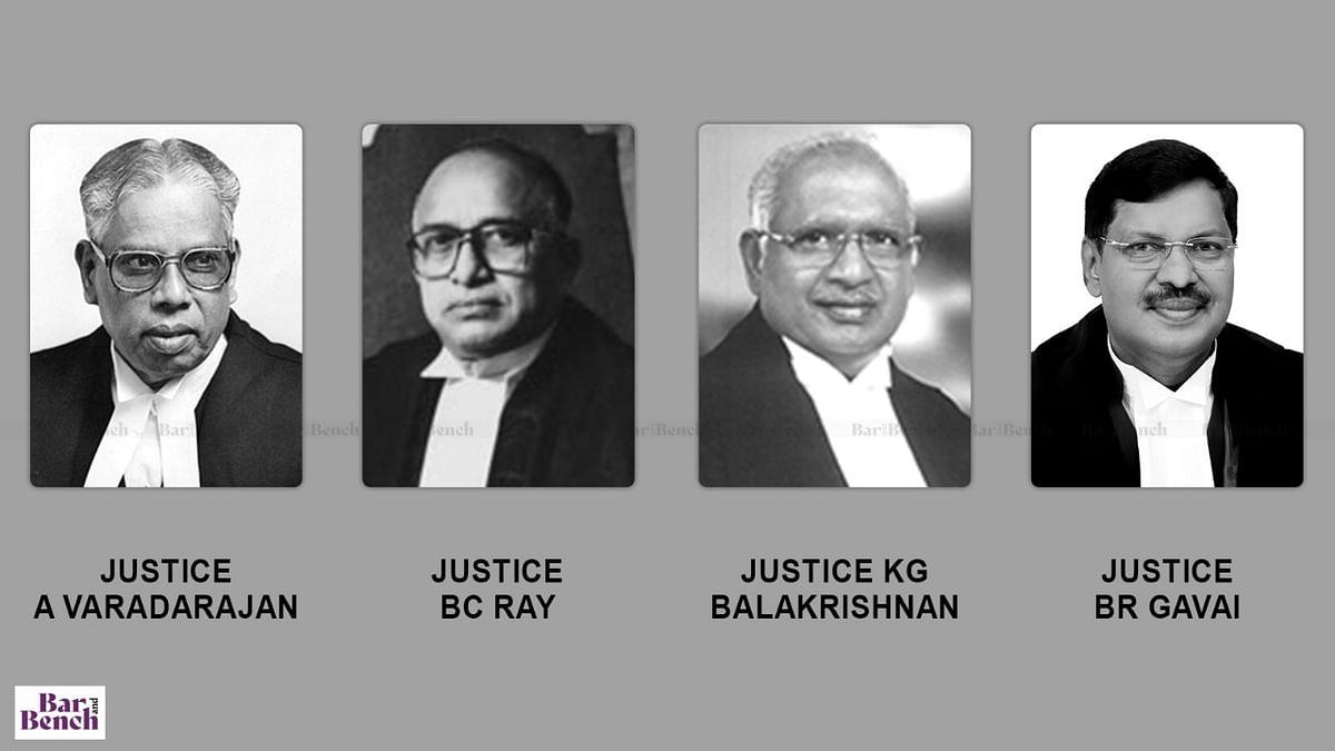Supreme Court Judges belonging to Scheduled Caste Community