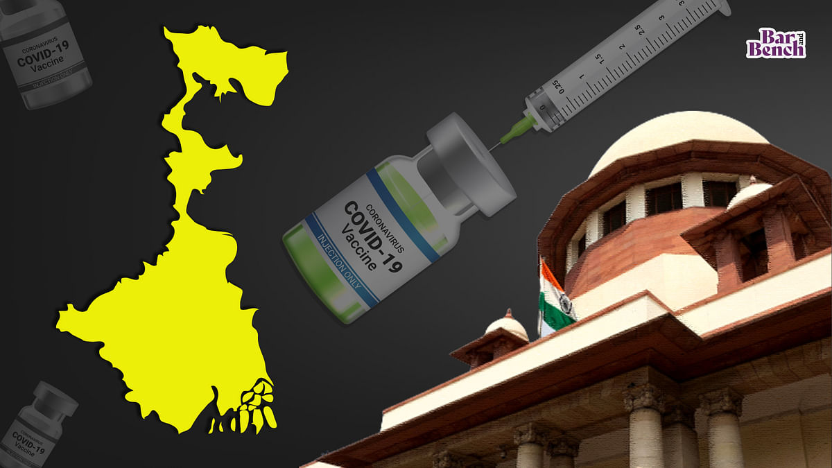 [COVID-19] West Bengal govt moves Supreme Court to disband current COVID vaccination policy, introduce universal coverage with uniform price