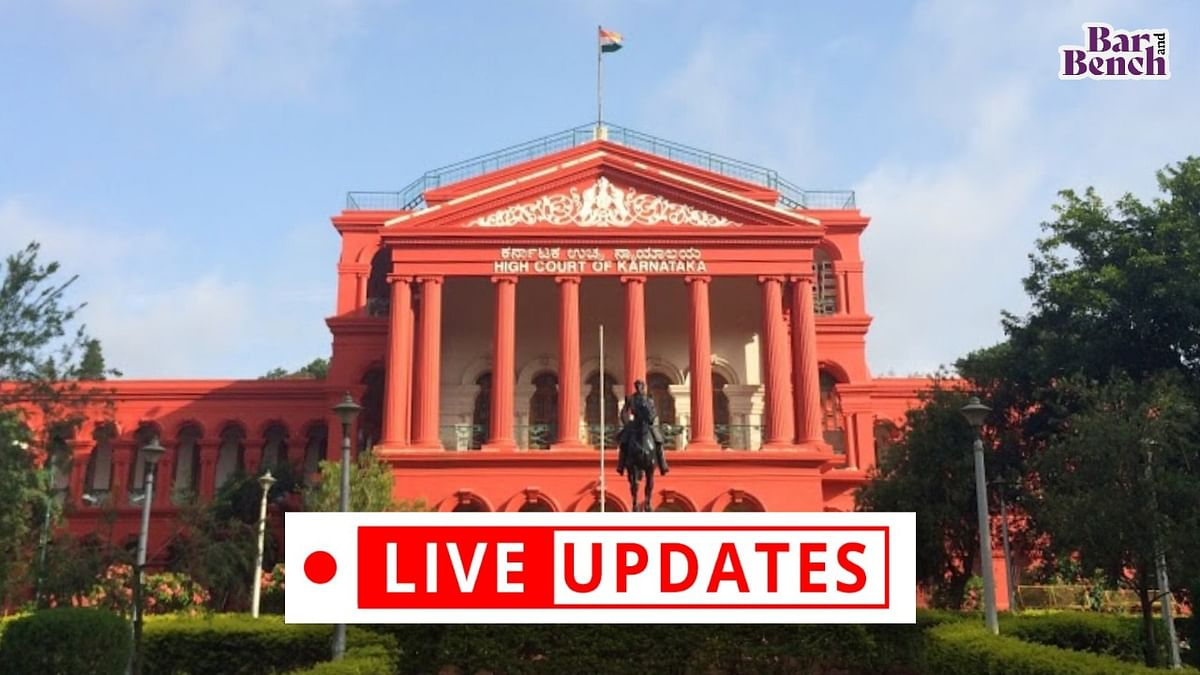 """COVID-19: """"We are worried about implementation of Court orders, lives of citizens"""", Karnataka High Court in suo motu case [LIVE UPDATES]"""