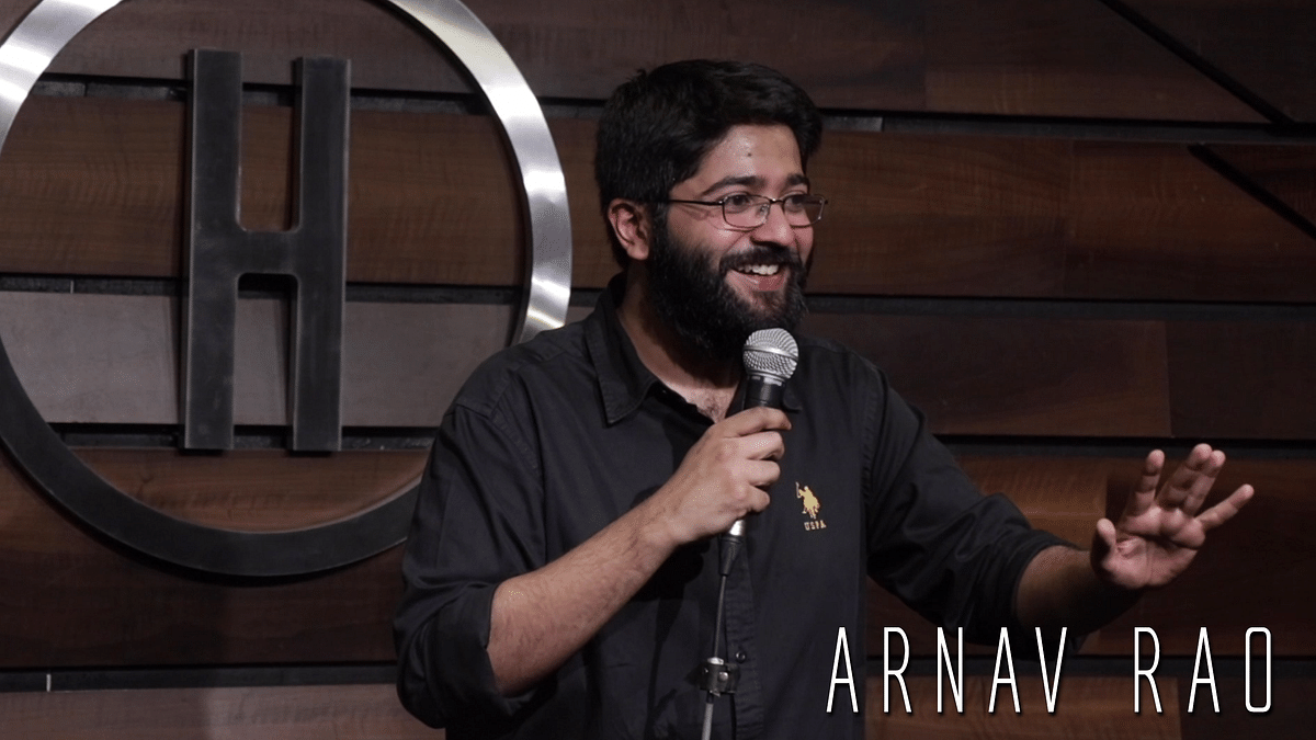 Working Title: Lawyer turned Stand-up Comedian Arnav Rao