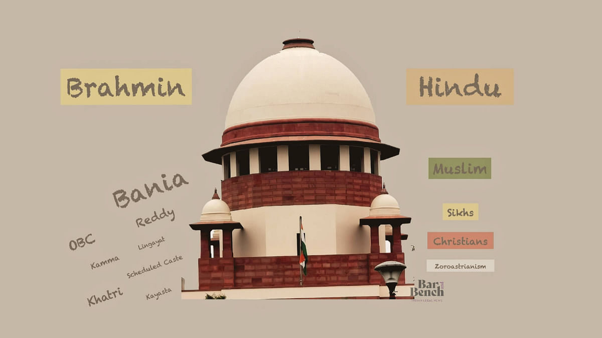 Disproportionate representation at the Supreme Court: A perspective based on Caste and Religion of judges