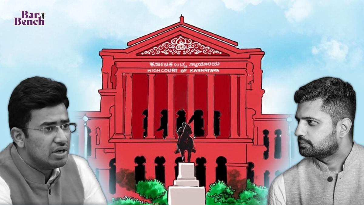 [COVID-19 Bed Scam] Karnataka High Court refuses to entertain plea against Tejasvi Surya by Youth Congress leader YB Srivatsa