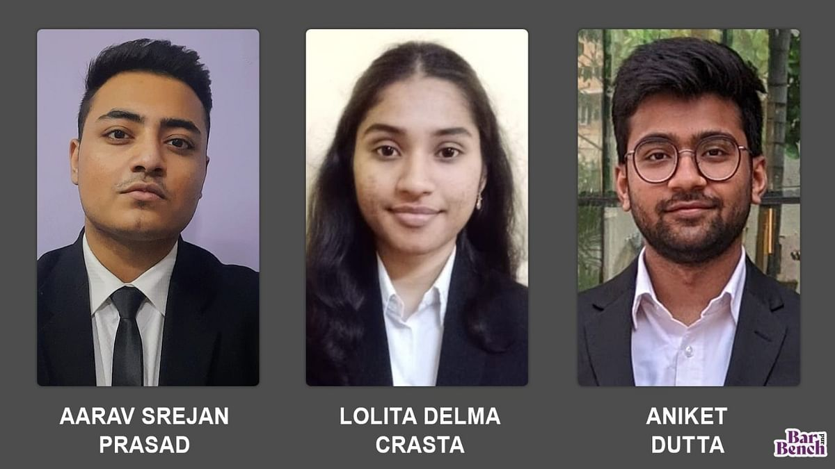 The passion for mooting helped us survive: SLCU's winning team at Law College Dehradun Moot 2021