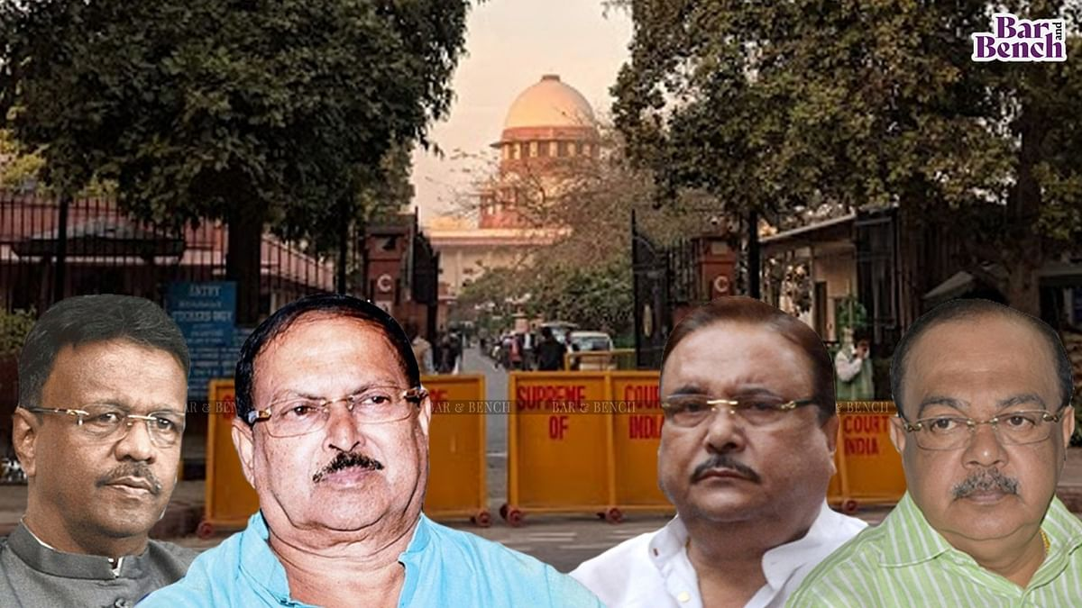 [BREAKING] CBI withdraws appeal in Supreme Court against Calcutta High Court order granting benefit of house arrest to TMC leaders in Narada case