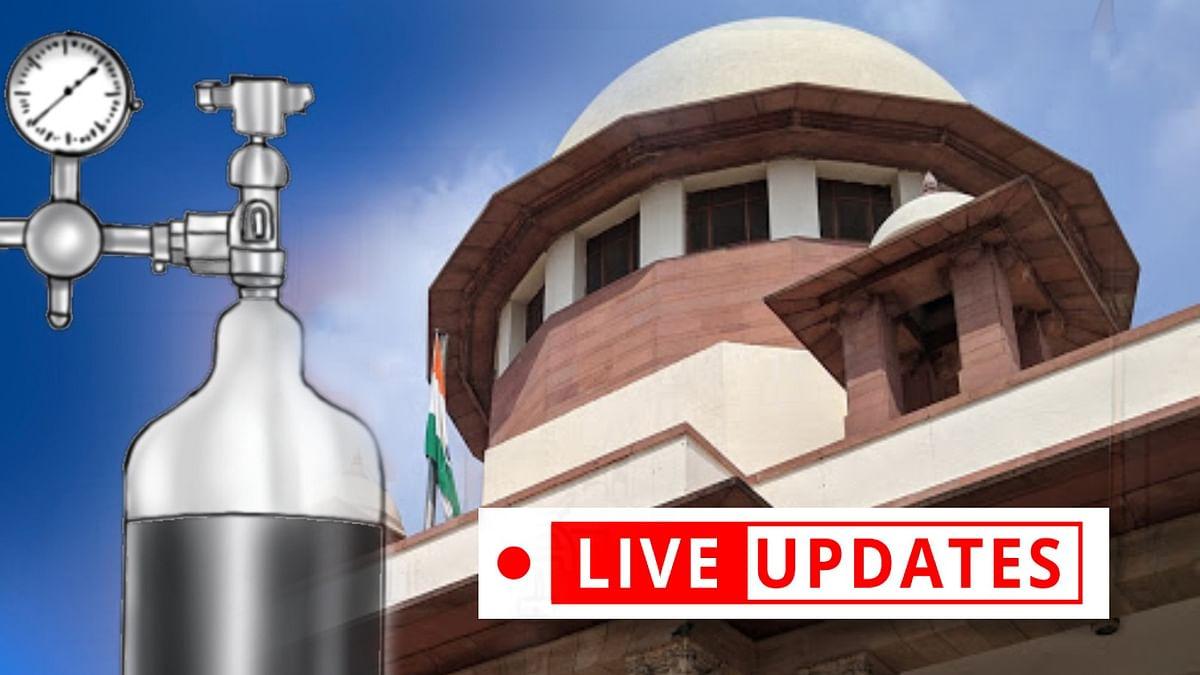Oxygen Supply: Supreme Court hears Centre's challenge to Delhi High Court contempt notice [LIVE UPDATES]