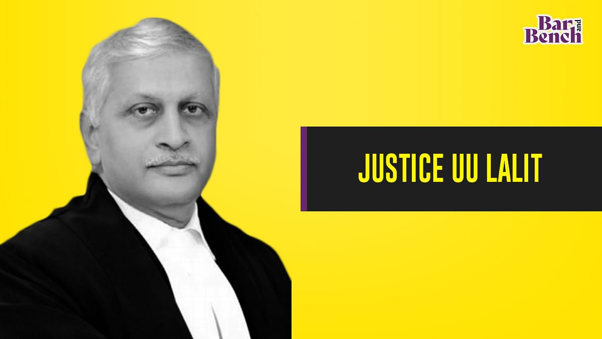 Justice UU Lalit nominated Executive Chairperson of NALSA