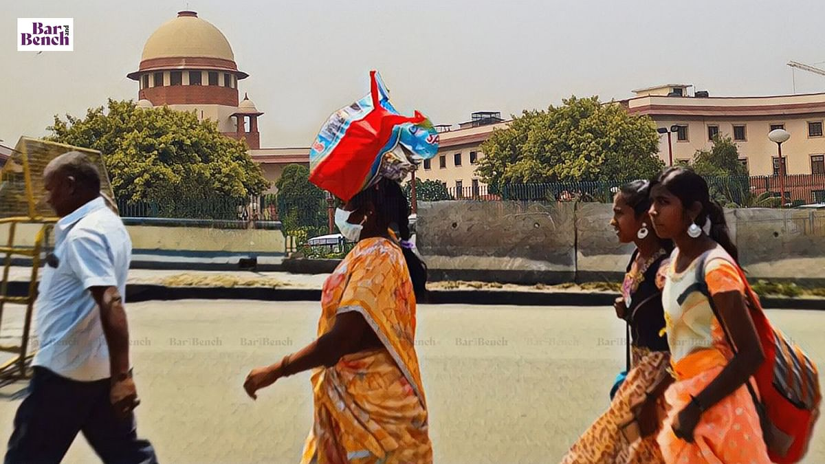 [COVID-19 Migrant Crisis] All states to provide dry ration to migrants; unorganised workers to be registered as early as possible: Supreme Court