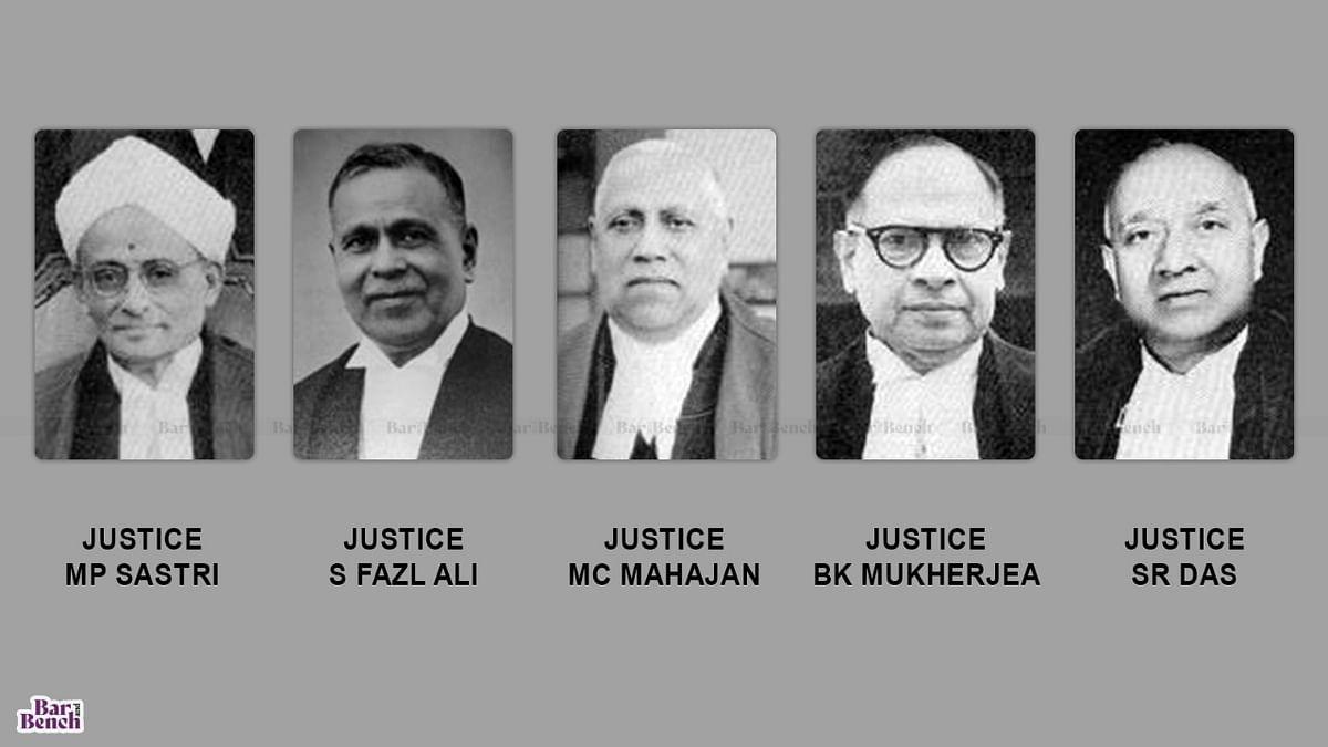 Judges of Supreme Court