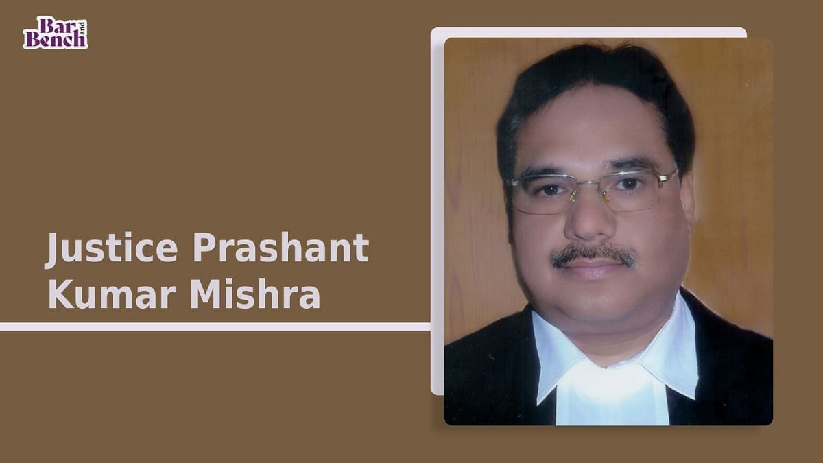 Justice Prashant Kumar Mishra appointed acting Chief Justice of Chhattisgarh High Court [Read Notification]