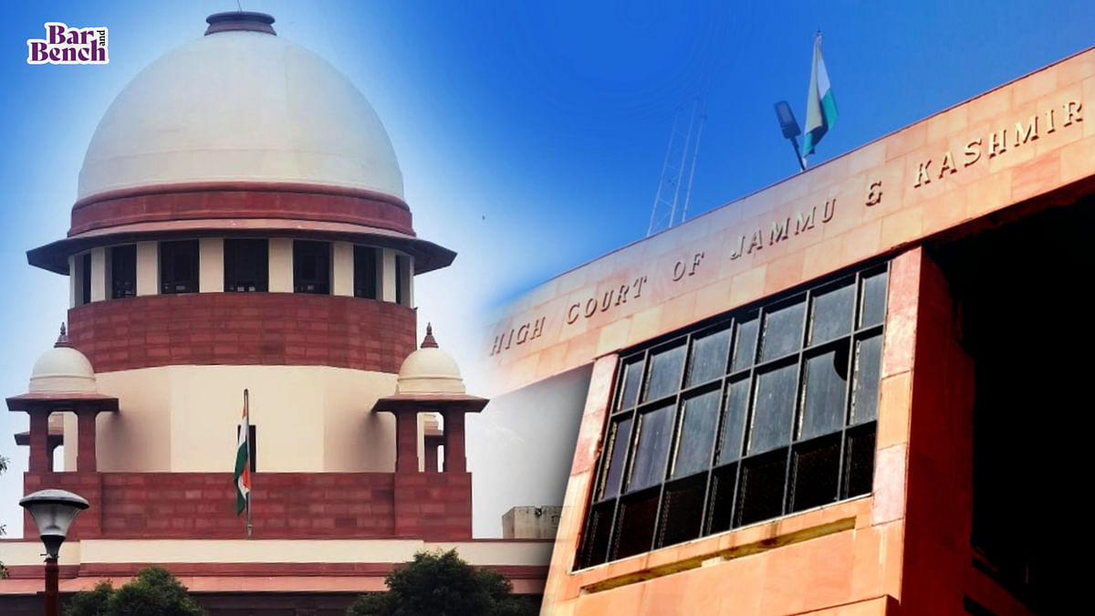 If SLP is dismissed by Supreme Court without granting leave, High Court will not be precluded from exercising review: Jammu & Kashmir High Court
