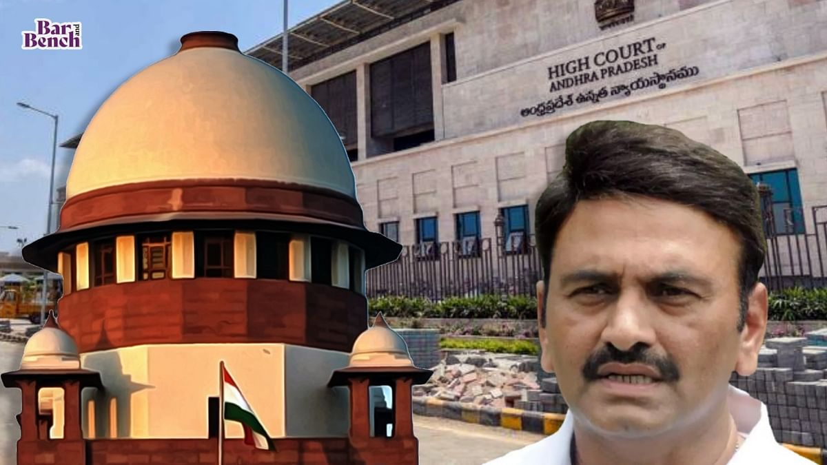 Breaking: Supreme Court orders YSR Congress MP Kanumuri Raghurama Krishnam Raju to be examined and admitted in Army Hospital, Secunderabad