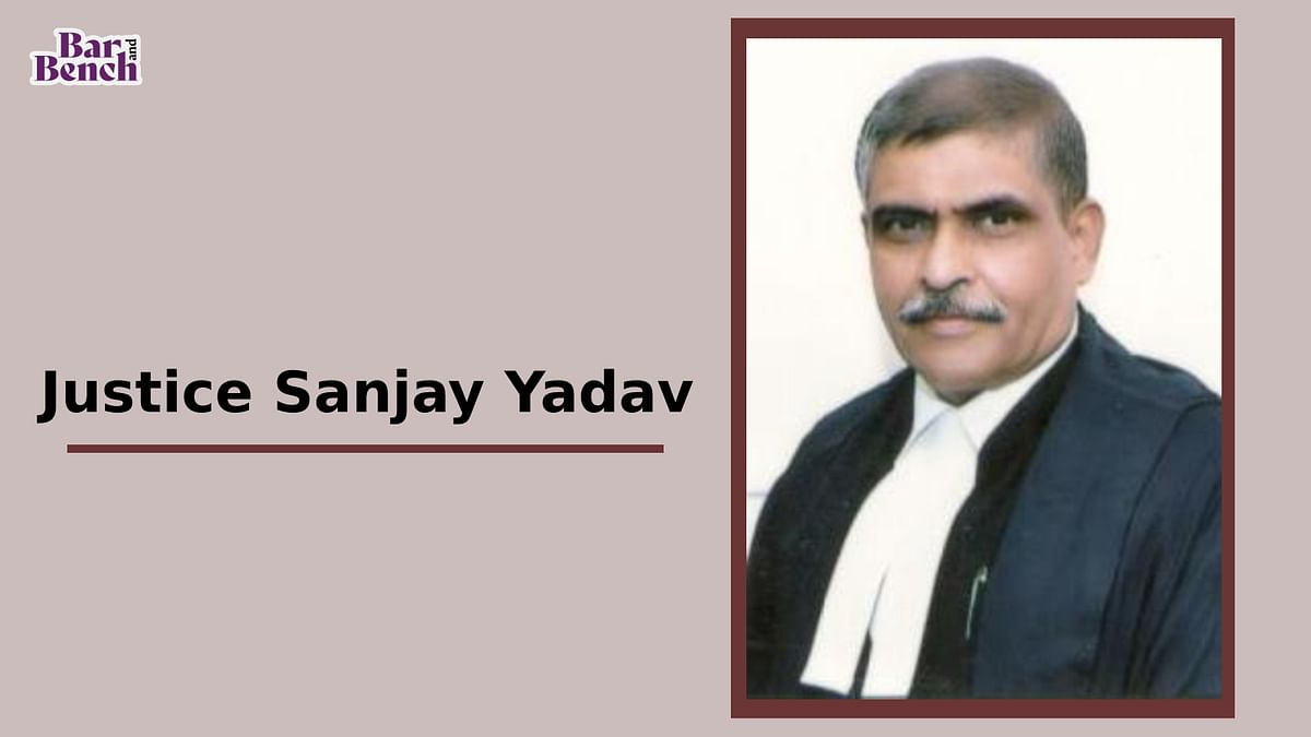 Breaking: Justice Sanjay Yadav appointed Chief Justice of Allahabad High Court
